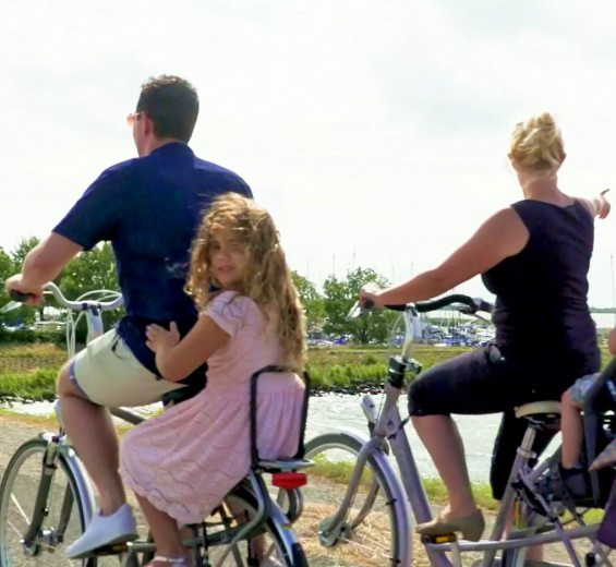 Fietsroutes in Noord-Holland
